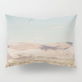 red rock canyon in California ... Pillow Sham