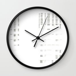 Architecture Diagram - A Study at An Intersection Wall Clock