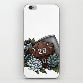 Paladin Class D20 - Tabletop Gaming Dice iPhone Skin