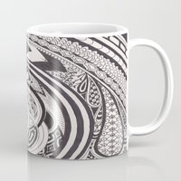 fibonacci Mugs featuring Fibonacci Effect by SRC Creations