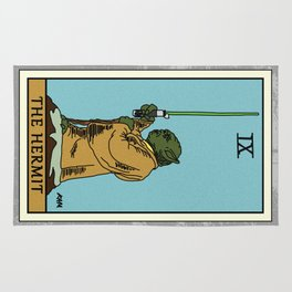 The Hermit - Tarot Card Rug