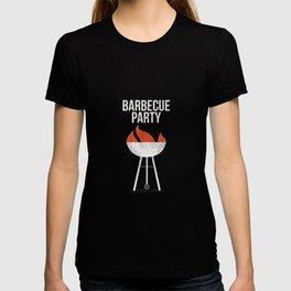 Meat BBQ grill man steak pork T-shirt