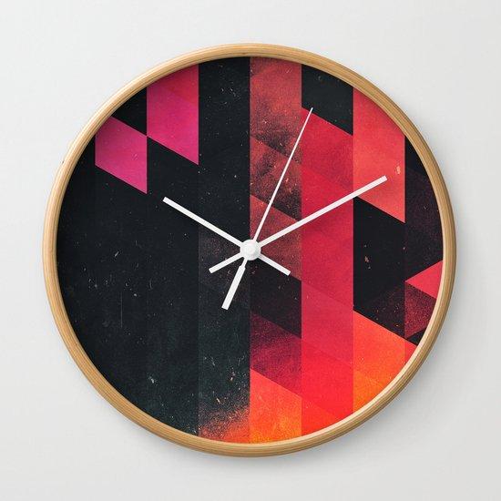 ylmyst tyme Wall Clock