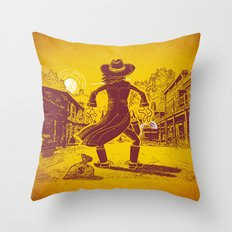 The Last Showdown - The bad guy Throw Pillow