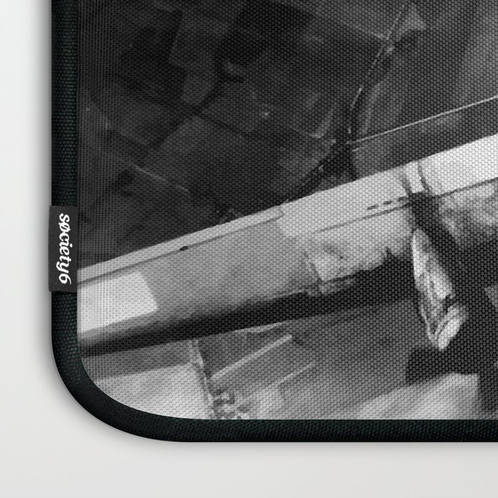 B-17 Bomber Over Germany Painting Laptop Sleeve