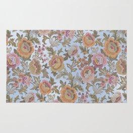 tapestry floral Rug