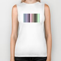 stripes Biker Tanks featuring Stripes by Digital-Art