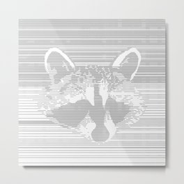 Mama the Trash Panda Metal Print