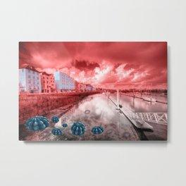 Red Harbouring  Metal Print