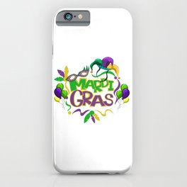 Festival Of Mardi Gras iPhone Case