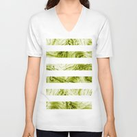 geode V-neck T-shirts featuring geode by maika