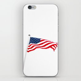 The American Flag (Color) iPhone Skin