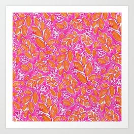 Botanicals - Sunrise Art Print