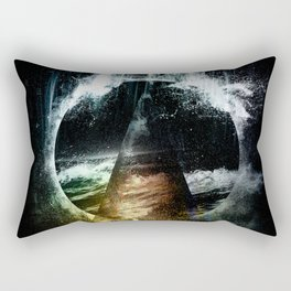 Thunder child Rectangular Pillow