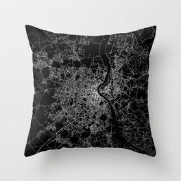 Bordeaux  Throw Pillow