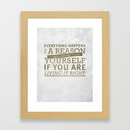 John Mayer Framed Art Print