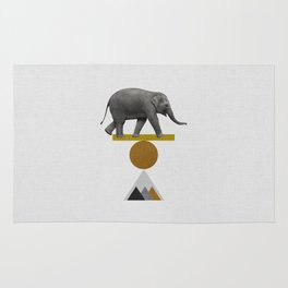 Tribal Elephant Rug