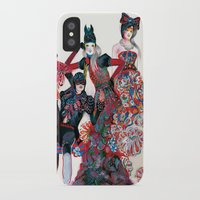 powerpuff girls iPhone & iPod Cases featuring Girls by Felicia Cirstea