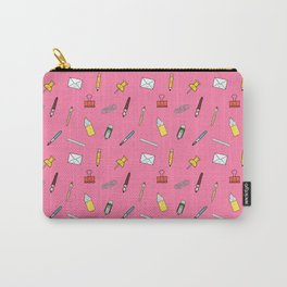 Happy smiling office Carry-All Pouch