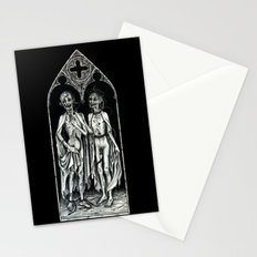 Dead Lovers (after Matthias Grünewald) Stationery Cards