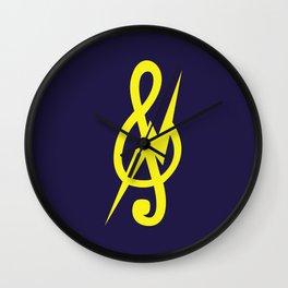 Treble Cleff Wall Clock