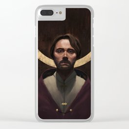 The King's Burden Clear iPhone Case
