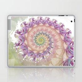 Watercolor Fibonacci Spiral Laptop & iPad Skin