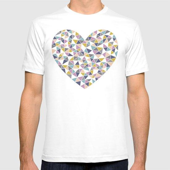 Faceted Heart T-shirt