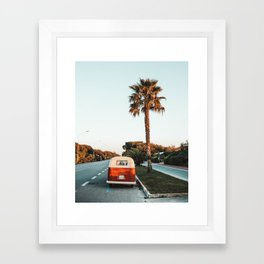 Summer Road Trip Framed Art Print