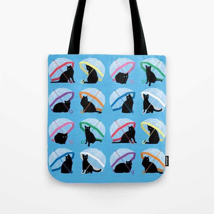 raining cats 'n cats Tote Bag