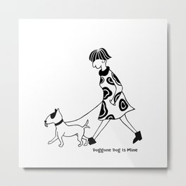 What's so funny ? Metal Print