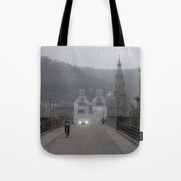 Heidelberg Cyclist Tote Bag