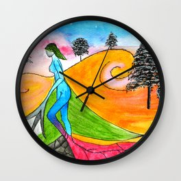 loyalty addiction and love Wall Clock