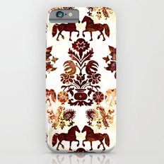 horse damask iPhone 6s Slim Case