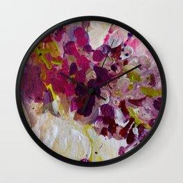LovelyLilac Wall Clock