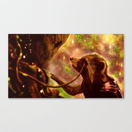 Guardians of the Galaxy - We are Groot. Canvas Print