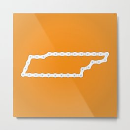 Tennessee: United Chains of America Metal Print