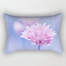 Allium pink macro 087 Rectangular Pillow