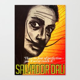 Salvador Dalí Canvas Print