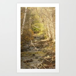 tall. once there was a wall bearier built as we were kids (1) #95 Art Print