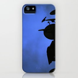 Incoming night on the city iPhone Case