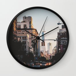 NYC Wall Clock