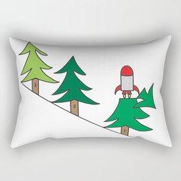 3, 2,1 Blast Off Rectangular Pillow