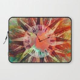 Synchronicity 11:11 Clock Face Time Design Laptop Sleeve