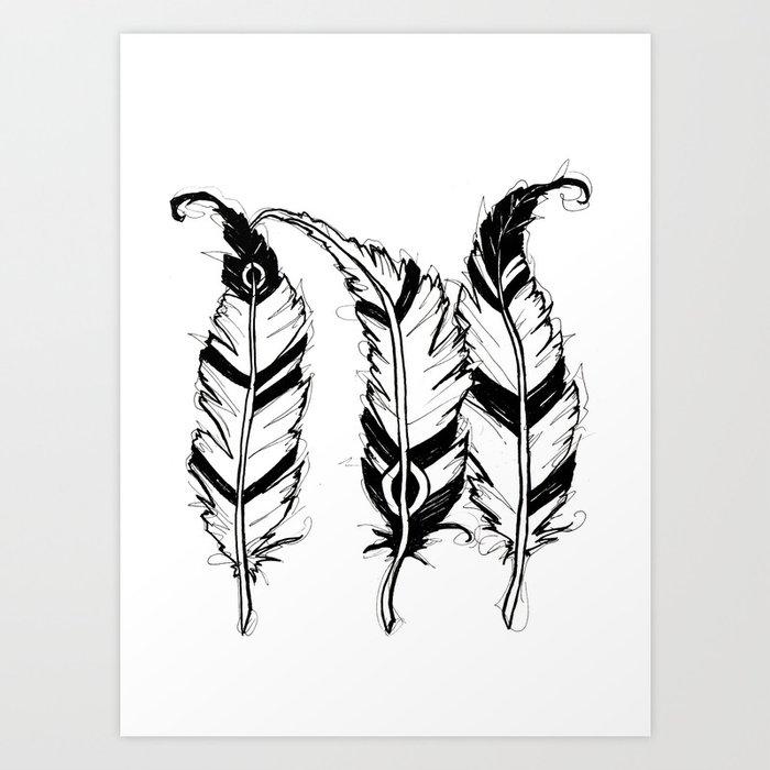 light as a... Art Print