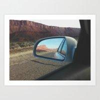 On the Road 2 Art Print