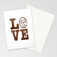 Triskelion Love - BDSM Art Stationery Cards