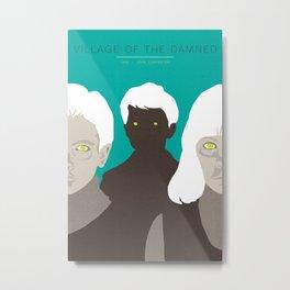 John Carpenter, Modern Master Series :: Village of the Damned Metal Print