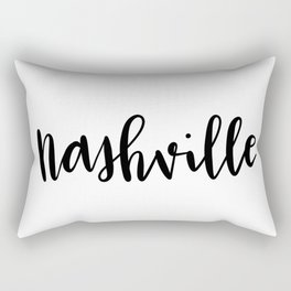 Nashville, TN Rectangular Pillow