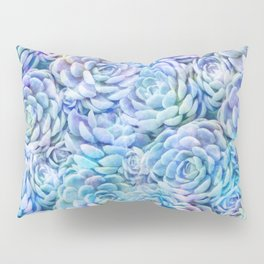 Rainbow succulents Pillow Sham